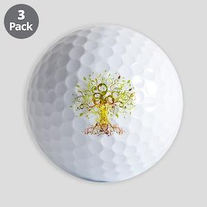 Tree Art Golf Balls