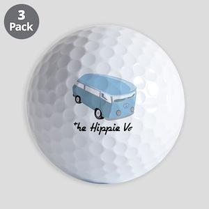 The Hippie Van Golf Balls