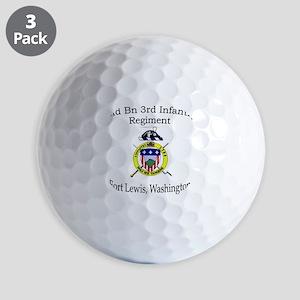2nd Bn 3rd Infantry Golf Balls