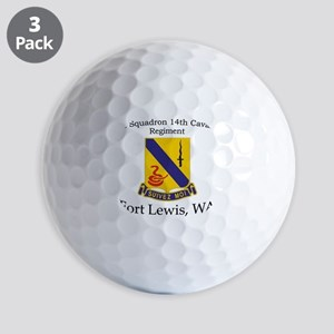 1st Squadron 14th Cavalry Golf Balls