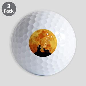 Basset-Hound22 Golf Balls