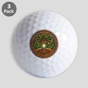 Celtic Sacred Trees - Oak Golf Balls