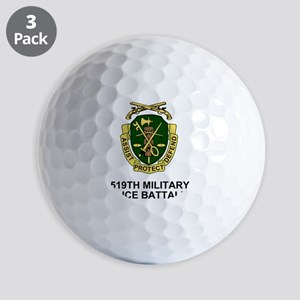 Army-519th-MP-Bn-Shirt-3 Golf Balls