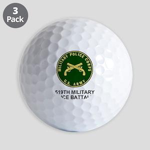 Army-519th-MP-Bn-Shirt-4 Golf Balls