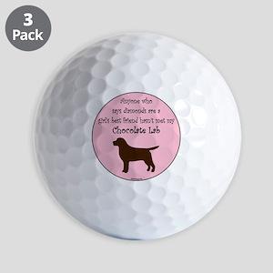 GBF_Lab_Chocolate Golf Balls