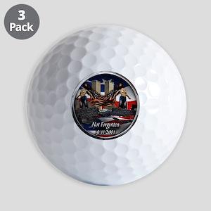 NOT FORGOTTEN Golf Balls
