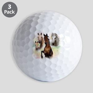 Horses Golf Balls