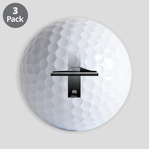 mustangPlain Golf Balls