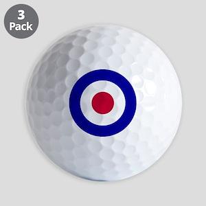 10x10-RAF_roundel Golf Balls
