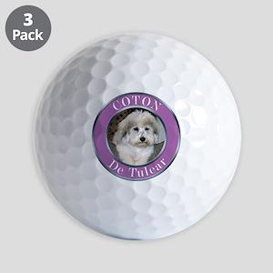 COTON2010 copy Golf Balls
