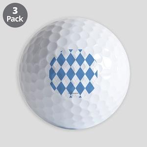 UNC Carolina Blue Argle Basketball Golf Balls