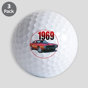 69GT500-C8trans Golf Balls