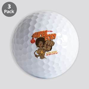 Ms. Super Foxy Golf Balls