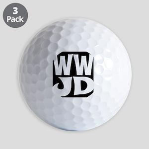 W W J D Golf Balls