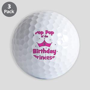 ofthebirthdayprincess_5th_poppop Golf Balls