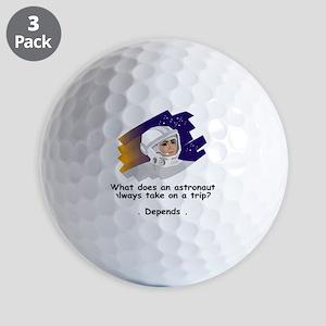 NASA-Always-take Golf Balls