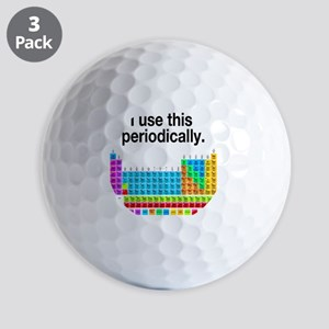 I Use This Periodically Golf Balls
