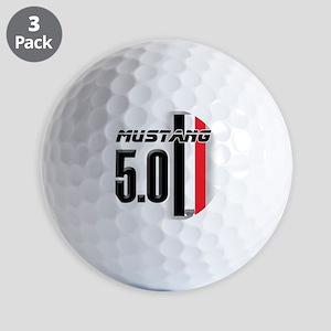 mustang5.0BWR Golf Balls