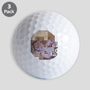Persian Miniature 01 Golf Balls
