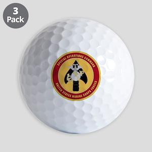 MarineSpecialOperationsCommand Golf Balls