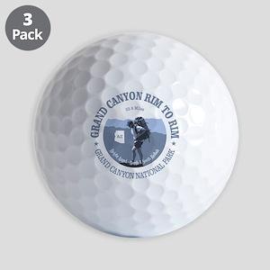 Grand Canyon Rim to Rim Golf Balls