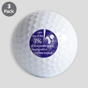 7percent Golf Balls