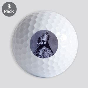 HaileSillassieandFirstLady Golf Balls