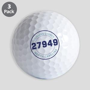 Southern Shores, North Carolina Zip Cod Golf Balls