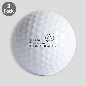 First Three Steps Golf Balls