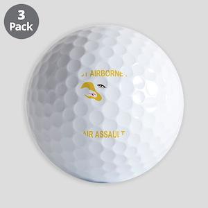 Army-101st-Airborne-Div Golf Balls