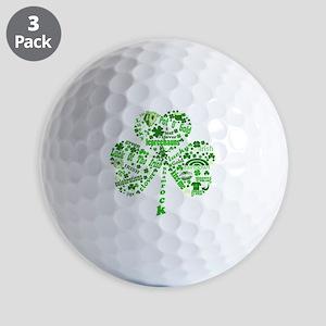 Irish Shamrock Golf Balls