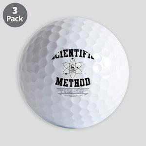 Scientific Method Golf Balls