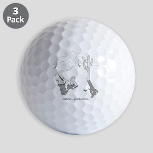 desertgraduation Golf Balls