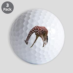 giraffeCutOut Golf Balls