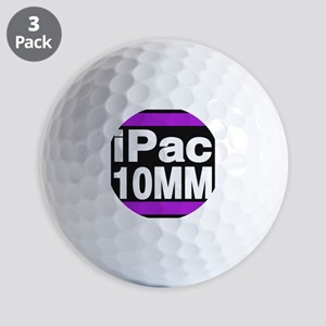 ipac 10mm purple Golf Ball