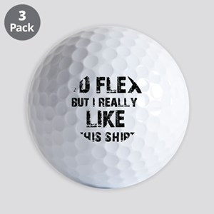 Funny Designs Golf Balls