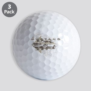 mustang1 Golf Balls