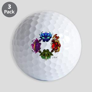 Chaos gods Golf Balls
