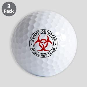 zombie-response-button Golf Balls