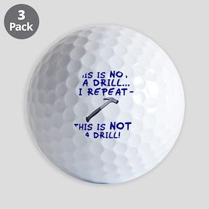 not-a-drill Golf Balls