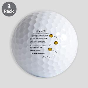 Tribble Song Golf Balls