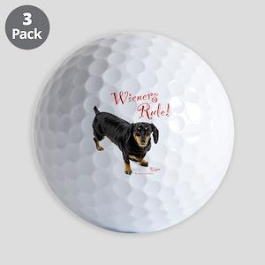 Wieners Rule Golf Balls