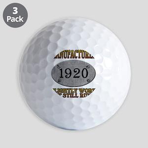 1920 Golf Balls