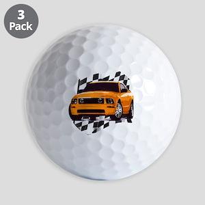 2006orange Golf Balls