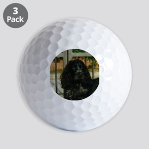 cocker spaniel Golf Ball