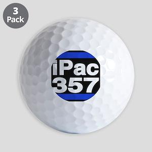 ipac 357 blue Golf Ball