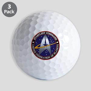 starfleet command emblem Golf Balls