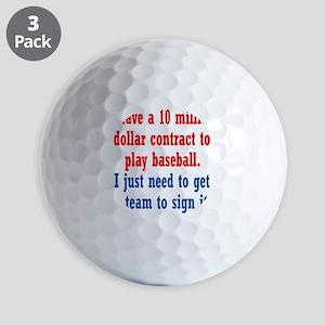 baseball-contract1 Golf Balls