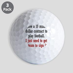 football-contract2 Golf Balls