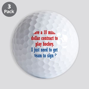 hockey-contract1 Golf Balls